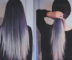 beauty, fashion, and pretty hair image