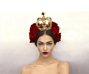 model, Queen, and red image