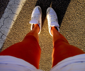 shoes, legs, and skinny image