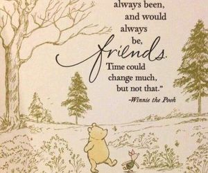 quotes, winnie the pooh, and friends image
