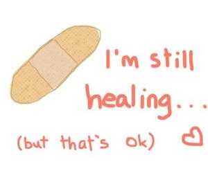 bandage, hope, and positive image