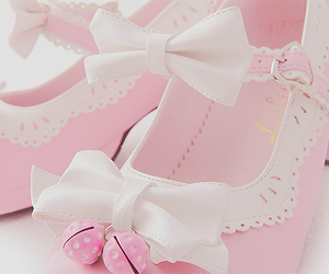 cute, pink, and shoes image