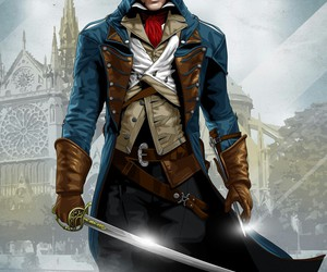 assassin's creed and assassins creed unity image
