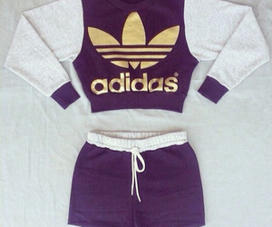 adidas and outfit image