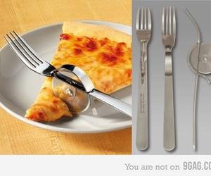 food, fork, and knife image