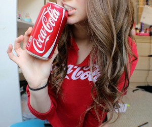 tumblr, red, and coca cola image