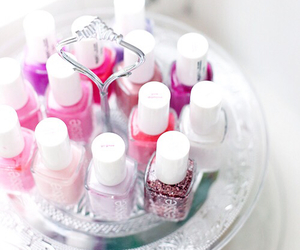 colorful, pink, and nails image