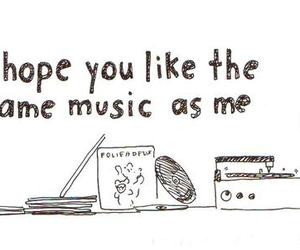 music, quote, and hope image