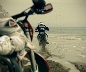 beach and motocross image