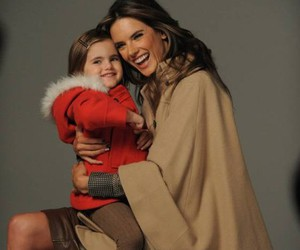 alessandra ambrosio, smiles, and daughter image