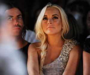 lindsay lohan, pretty, and blonde image