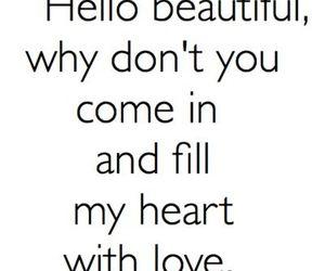 love, beautiful, and heart image