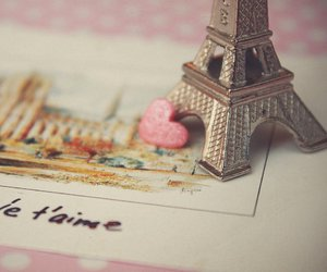 paris, heart, and france image