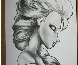 anna, disney, and draw image