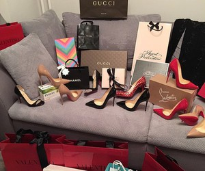 shoes, gucci, and chanel image