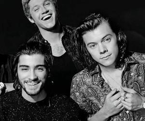 zayn malik, Harry Styles, and niall horan image