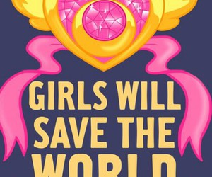 sailor moon, feminism, and pink image