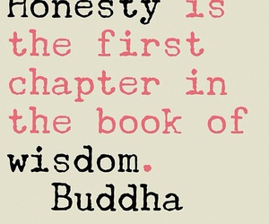 Buddha, honesty, and pink image