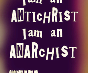 1976, punk rock, and anarchist image