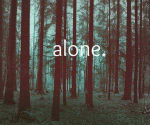 alone, december, and green image