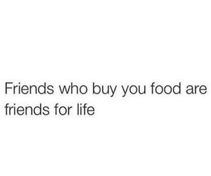 friends, food, and funny image