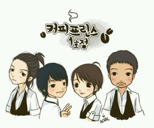 drama, coffee prince, and korea image