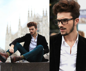 fashion, handsome, and hair image