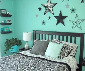 room, stars, and bedroom image