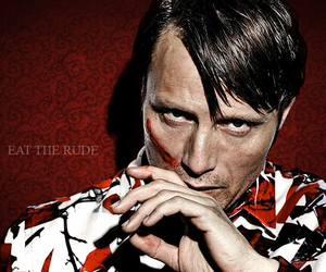hannibal, red, and sexy image