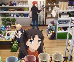 anime, saber, and shirou emiya image