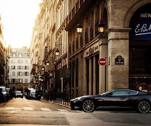 car, city, and street image