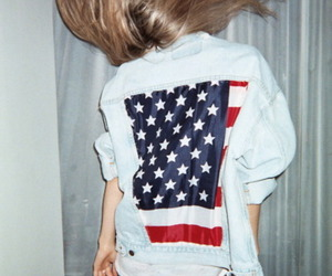 america, cool, and flag image