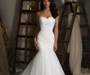 wedding dress, morilee, and madeline gar image