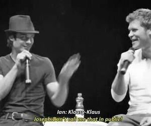 joseph morgan, ian somerhalder, and the vampire diaries image
