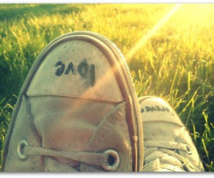 converse, forever, and grass image