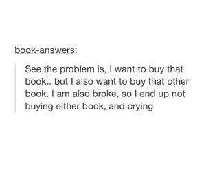 book, crying, and funny image