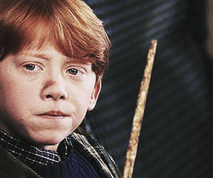 harry potter, hogwarts, and rupert grint image
