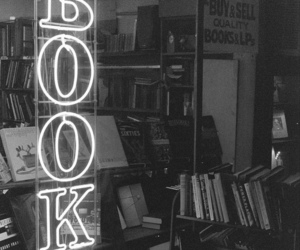 black and white, photography, and book image