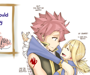 Lucy, fairy tail, and nalu image