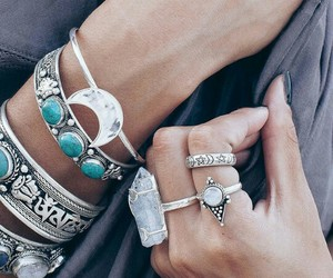jewelry, boho, and bracelet image
