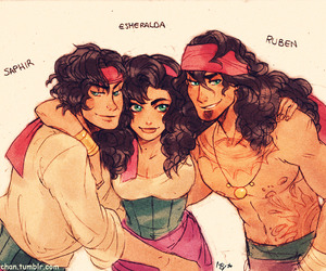 esmeralda, disney, and brothers image