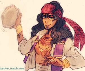 disney, esmeralda, and genderbender image