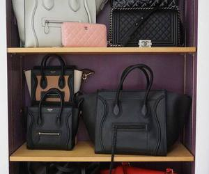 bag, chanel, and celine image