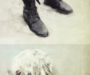 boots, boy, and snow image