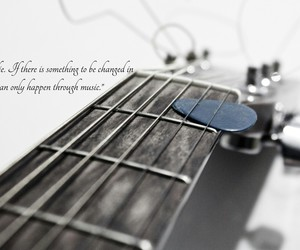 inspiration, music, and quitar image