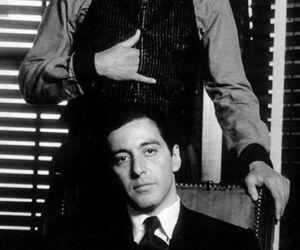 al pacino, robert deniro, and The Godfather image