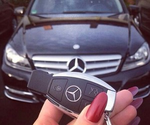 car, mercedes, and nice image