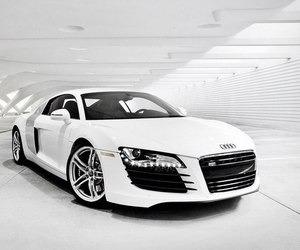 audi, car, and audi r8 image