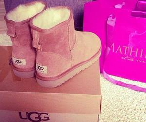fashion, uggs, and love image