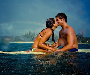 abs, boyfriend, and kissing image